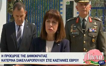 Αικατερίνη Σακελλαροπούλου: Με πίστη και αποφασιστικότητα μπορούμε να υπερβούμε κάθε πρόκληση