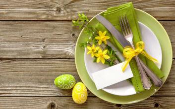Πώς να στολίσεις υπέροχα το πασχαλινό σου τραπέζι