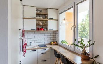 Τρία tips για να οργανώσετε μια κουζίνα με λίγα ντουλάπια