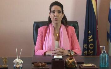 Κορονοϊός: Στην εκκλησία η δήμαρχος Κέρκυρας - Είχε συμμετάσχει στην καμπάνια «Μένουμε σπίτι»