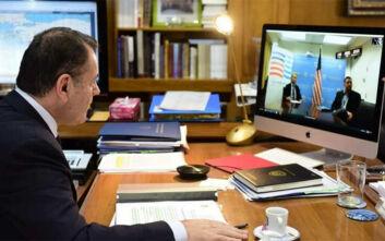 Τηλεδιάσκεψη Παναγιωτόπουλου - Πάιατ για την αμυντική συνεργασία Ελλάδας - ΗΠΑ