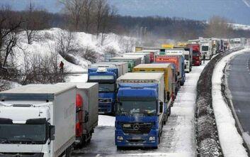 Θεσσαλονίκη: Διακοπή της κυκλοφορίας οχημάτων άνω των 3,5 τόνων στην Εγνατία Οδό λόγω θυελλωδών ανέμων