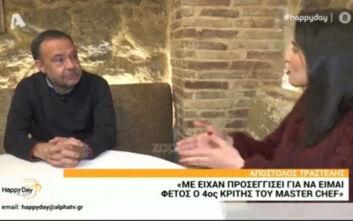 Απόστολος Τραστέλης: Η κριτική που γίνεται στα εστιατόρια μου είναι πιο αυστηρή από του MasterChef