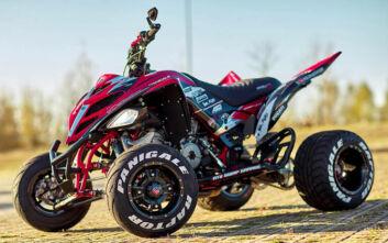Να τι συμβαίνει όταν ένα ATV φορέσει τον κινητήρα της Ducati Panigale