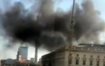 Πυρκαγιά στο Ανάκτορο του Βερολίνου - Ένας τραυματίας