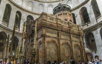 Ισραήλ: Ανοίγει και πάλι από αύριο ο Ναός της Αναστάσεως, αφού έμεινε κλειστός για δύο μήνες λόγω κορονοϊού