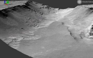 Πλανήτης Άρης: Ενδείξεις ότι μεγάλος αρχαίος ποταμός κυλούσε στον «κόκκινο» πλανήτη επί 100.000 χρόνια