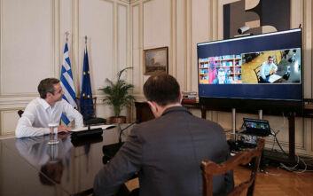 Μητσοτάκης: Θέλουμε μία ευρωπαϊκή, δημοκρατική και ευημερούσα Αλβανία