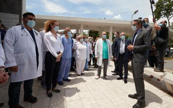 Μητσοτάκης: Δεν είναι αποδεκτή η χρήση πολιτικού μέσου για να βρεθεί κλίνη ΜΕΘ στην Ελλάδα του σήμερα
