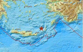 Νέος ισχυρός σεισμός στην Κάσο