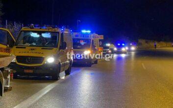 Φορτηγό της Ασφάλειας Σερρών εμπλέκεται στο δυστύχημα στην Ευκαρπία - H ανακοίνωση της ΕΛ.ΑΣ.