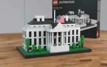 Ο Λευκός Οίκος «ξαναχτίστηκε» με... τουβλάκια Lego