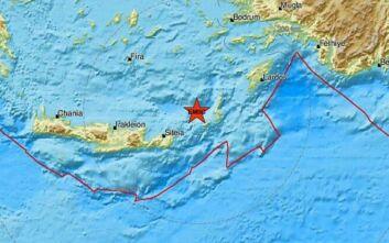 Σεισμός έγινε αισθητός στην Κρήτη