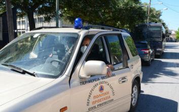 Έφτασε στη Λάρισα ο πρόεδρος του ΕΟΔΥ- Συνάντηση με τον περιφερειάρχη Θεσσαλίας