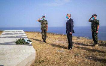 Επίσκεψη Στεφανή στα νησιά του Βορείου Αιγαίου: Έλεγξετα μέσα επιτήρησης των θαλάσσιων συνόρων