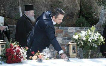 Χανιά: Μνημόσυνο στη μνήμη του Κωνσταντίνου Μητσοτάκη παρουσία του Πρωθυπουργού