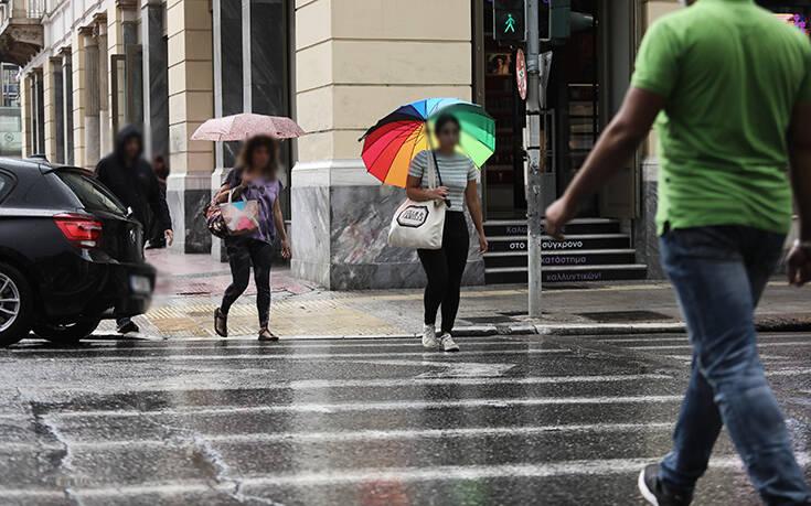 Άστατος ο καιρός και το Σάββατο - Πού αναμένονται βροχές και καταιγίδες