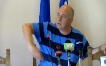 Φραστική επίθεση του Μπέου κατά του Αλκίνοου Ιωαννίδη και των κατοίκων ενός χωριού του Πηλίου