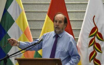 Χειροπέδες στον υπουργό Υγείας της Βολιβίας