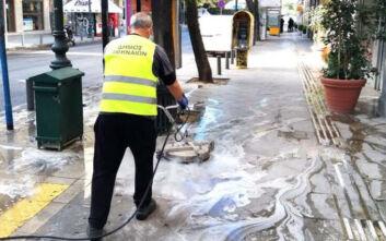 Δήμος Αθηναίων: Δείτε τα νέα υπερσύγχρονα μηχανήματα για πλύσιμο και απολύμανση