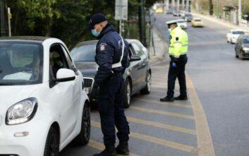 Απαγόρευση κυκλοφορίες: 29 παραβάσεις για μετακινήσεις εκτός περιφερειακής ενότητας την Πέμπτη