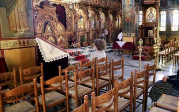 «Δεν μεταδίδεται ο κορονοϊός μέσα στο ναό - Για να μην υπάρχουν ταραχές, βάλτε μάσκα»