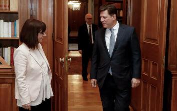 Σακελλαροπούλου: Βεβαιότητα για την επιτυχία των στόχων της ελληνικής Προεδρίας στο Συμβούλιο της Ευρώπης