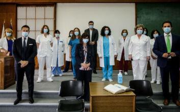 Παγκόσμια Ημέρα Νοσηλευτών: Στον Ευαγγελισμό η Κατερίνα Σακελλαροπούλου