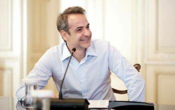 Τηλεδιάσκεψη Μητσοτάκη - Κουρτς για οικονομία και τουρισμό εν μέσω κορονοϊού