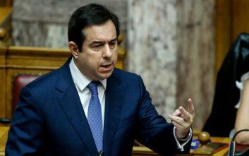 Στη Χίο, αύριο, για σειρά συναντήσεων ο Νότης Μηταράκης