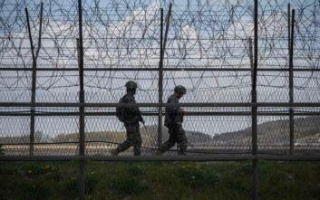 Ένταση με ανταλλαγή πυρών στα σύνορα Βορείου και Νοτίου Κορέας
