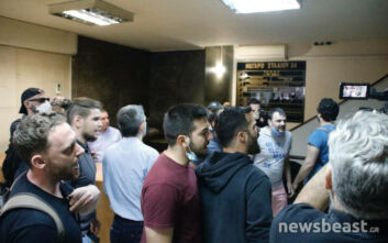 «Ντου» εργαζομένων στον τουρισμό και τον επισιτισμό στην Πανελλήνια Ομοσπονδία Ξενοδόχων