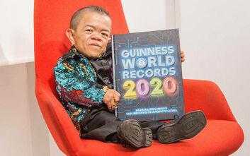 Ρεκόρ Γκίνες για τον πιο κοντό άνθρωπο στον κόσμο: Ύψος 72,1 εκατοστά και μεγάλη καρδιά