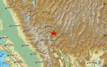 Ισχυρός σεισμός στη Νεβάδα, ακολούθησαν 14 μετασεισμοί