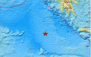 Ισχυρός σεισμός τώρα στη Μεσόγειο