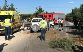 Οδηγός στην Κρήτη εκσφενδονίστηκε από το αυτοκίνητό του και στη συνέχεια τον πλάκωσε διερχόμενο όχημα