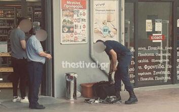Άφησε τσάντα έξω από σούπερ μάρκετ, προκάλεσε την κινητοποίηση της ΕΛΑΣ στη Θεσσαλονίκη και τελικά συνελήφθη