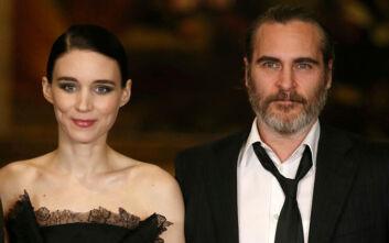 Joaquin Phoenix και Rooney Mara περιμένουν το πρώτο τους παιδί