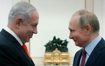 Πούτιν και Νετανιάχου συμφώνησαν για συνεργασία στη δημιουργία εμβολίου κατά του κορονοϊού
