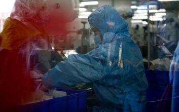 Σαρωτικοί έλεγχοι για κορονοϊό στην Κίνα, «στον πάγο» οι εισαγωγείς κατεψυγμένων