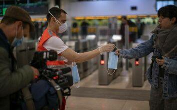 Ισπανία - Κορονοϊός: Υποχρεωτική η χρήση μάσκας στα ΜΜΜ από Δευτέρσ