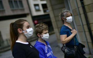Υποχρεωτικά με μάσκα τα παιδια άνω των 6 ετών στην Ισπανία