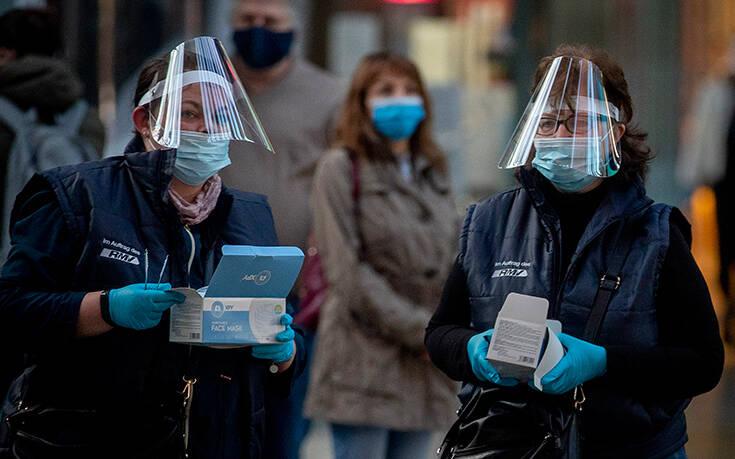 Δέκα νέοι θάνατοι από την πανδημία και 503 κρούσματα στη Γερμανία σε ένα 24ωρο