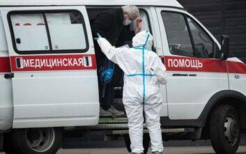 Περισσότερα από 10.000 νέα κρούσματα κορονοϊού ανακοίνωσε η Ρωσία