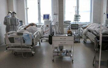 Πυρκαγιά σε νοσοκομείο αναφοράς κορονοϊού στη Μόσχα με έναν νεκρό