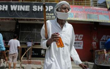 Ρεκόρ με 8.392 κρούσματα σε 24 ώρες η Ινδία - Ξεπέρασε την Γαλλία στη λίστα
