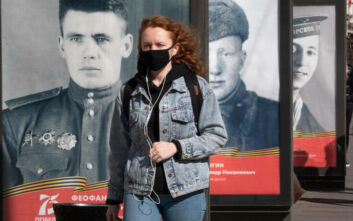 Δύσκολη η μάχη της Ρωσίας με τον κορονοϊό: Πάνω από 8.300 κρούσματα σε ένα 24ωρο