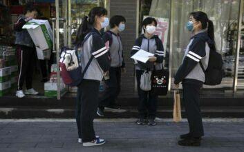 Τρία νέα κρούσματα κορονοϊού σε 24 ώρες στην Κίνα