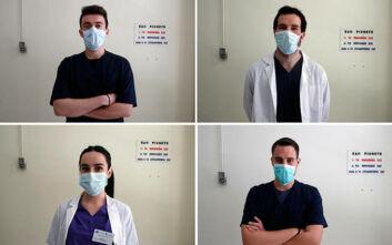 Το Associated Press κατέγραψε τη συγκινητική μάχη των 56 μικρών ηρώων του νοσοκομείου «Σωτηρία»