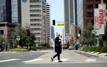 Δοκιμάζεται η Καλιφόρνια από την έξαρση στα κρούσματα του κορονοϊού